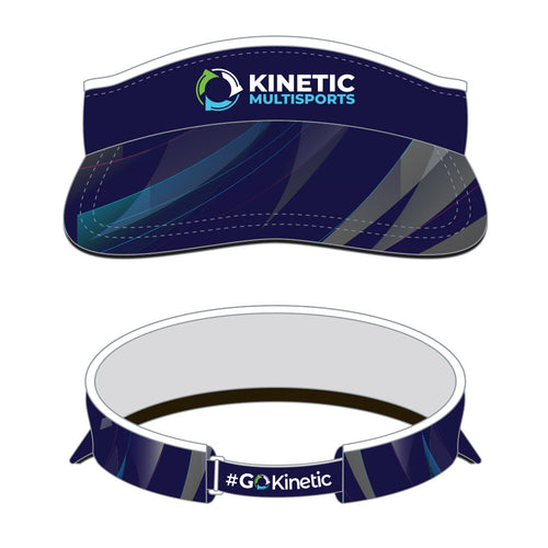 Kinetic Series Visor Blue