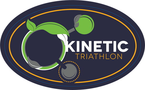 AA Kinetic Triathlon Festival Sticker