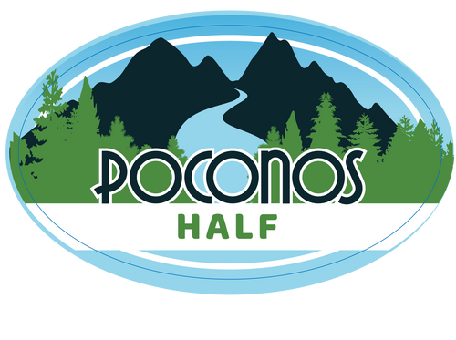 Poconos Half Sticker