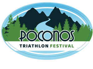 Poconos Triathlon Festival Sticker