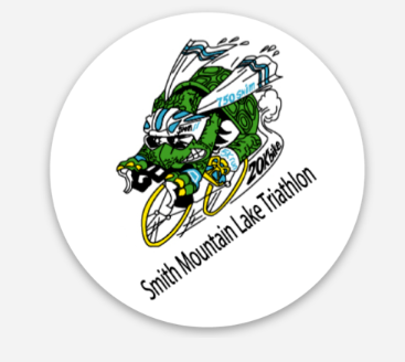 Smith Mountain Lake Triathlon Sticker