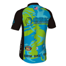 Load image into Gallery viewer, Kinetic Multisports Cycling Jersey Camo Design