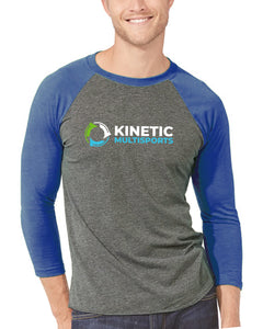 Kinetic Series 3/4 Baseball Style T-Shirt