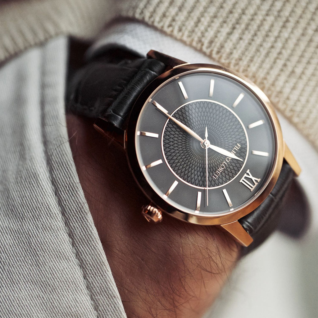 Rome Rose Gold Watch from Filippo Loreti
