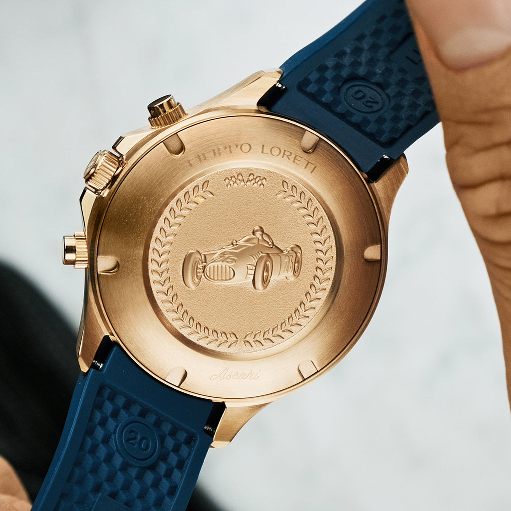 Ascari Indigo Rose Gold Watch For Men Online