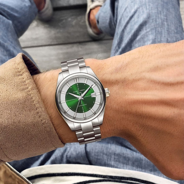 Eterno Emerald Link Automatic Watch