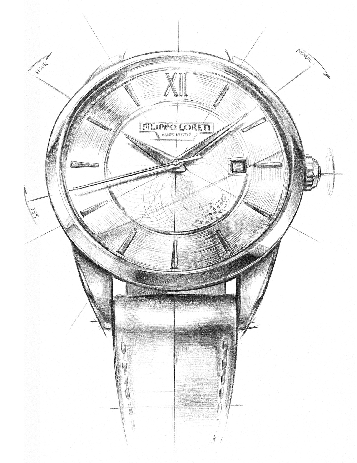 filippo loreti watches