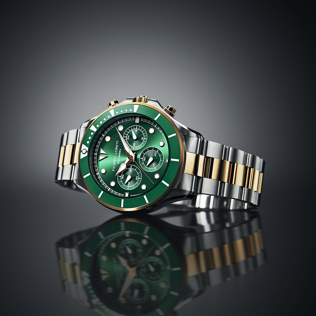 Odyssey Two-Tone Green Link Green Watch