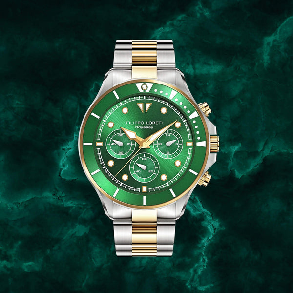 Odyssey Two Tone Green Link