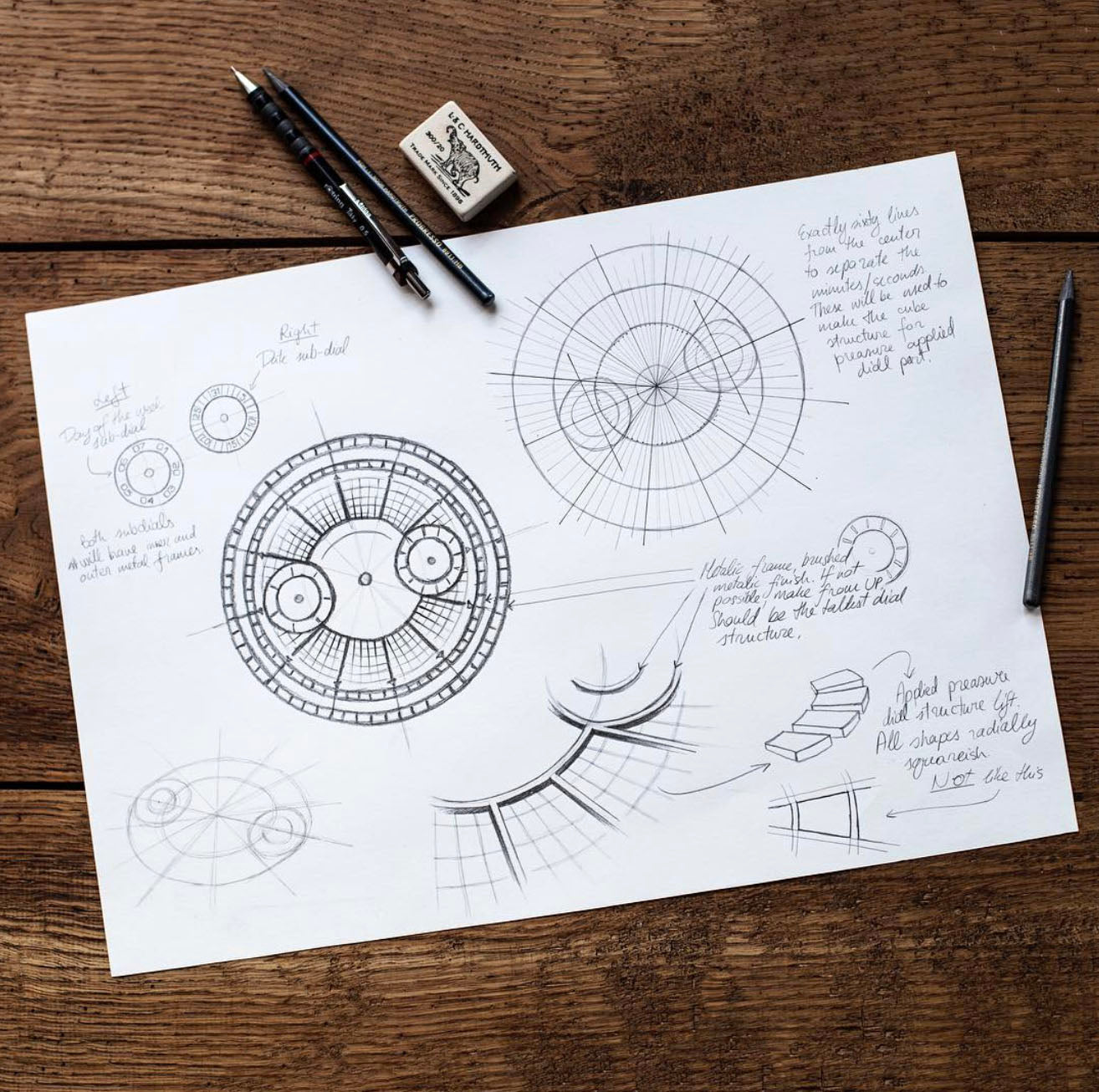 Designing watches