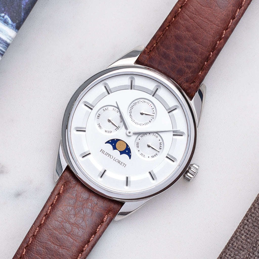 Venice Silver Automatic Watch For Men Online