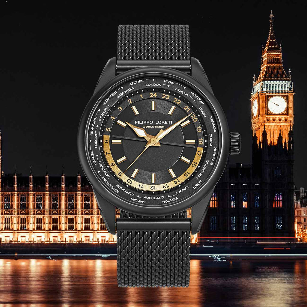 Worldtimer London Limited Edition Watch For Men And Women Online