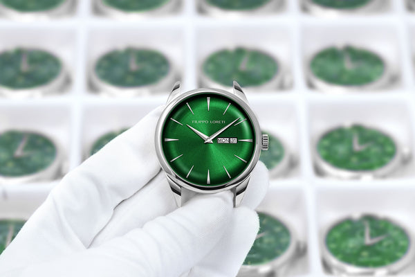 Green Face Watches