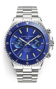 Ascari Deep Blue Steel Link