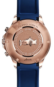 Ascari Indigo Rose Gold Rubber