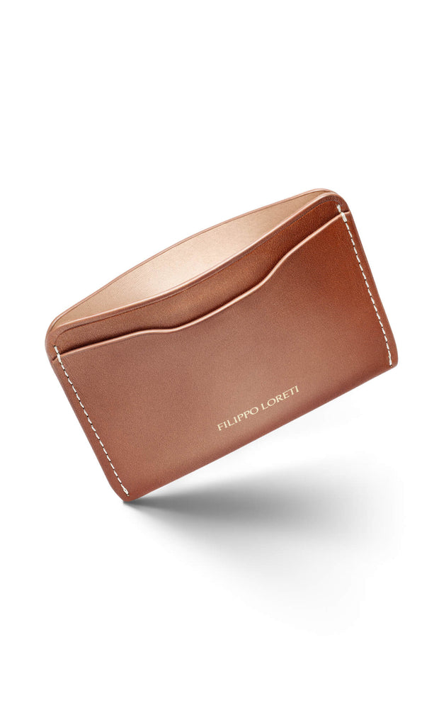 a2767b42bf Brown Italian Leather Cardholder