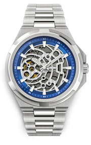 Skeleton Silver Navy