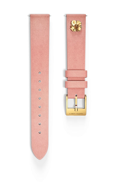 Pink Muse Leather Strap