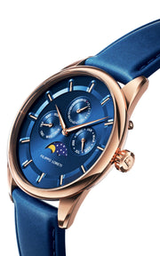 Venice Moonphase Rose Gold Blue
