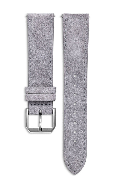 Sand Grey Suede Italian Leather Strap