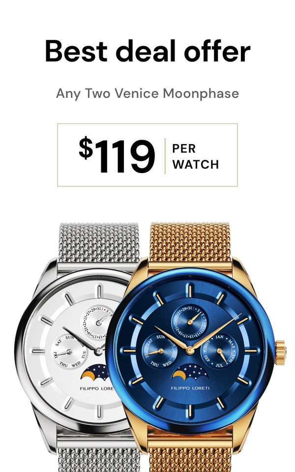 Any 2 Venice Moonphase Watches