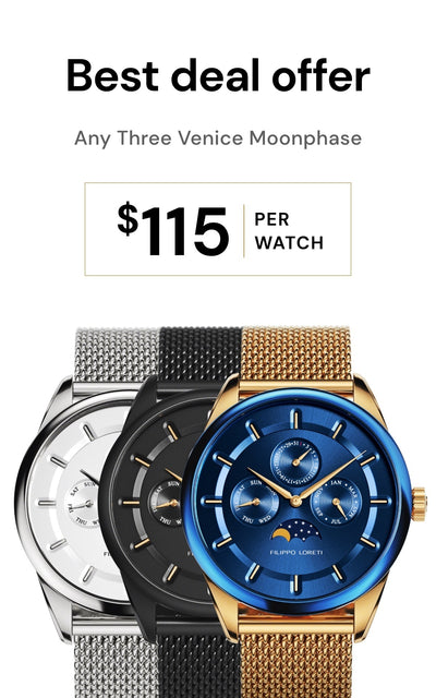 Any 3 Venice Moonphase Watches