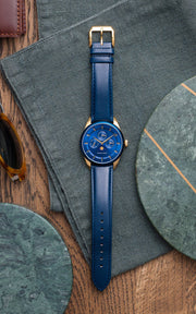 Venice Moonphase Blue Gold