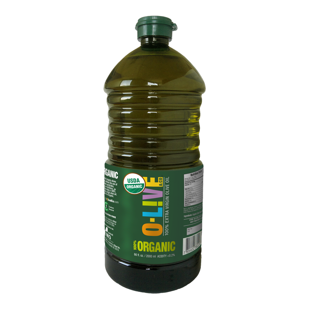 Organic Extra Virgin Olive Oil: Green & Balanced