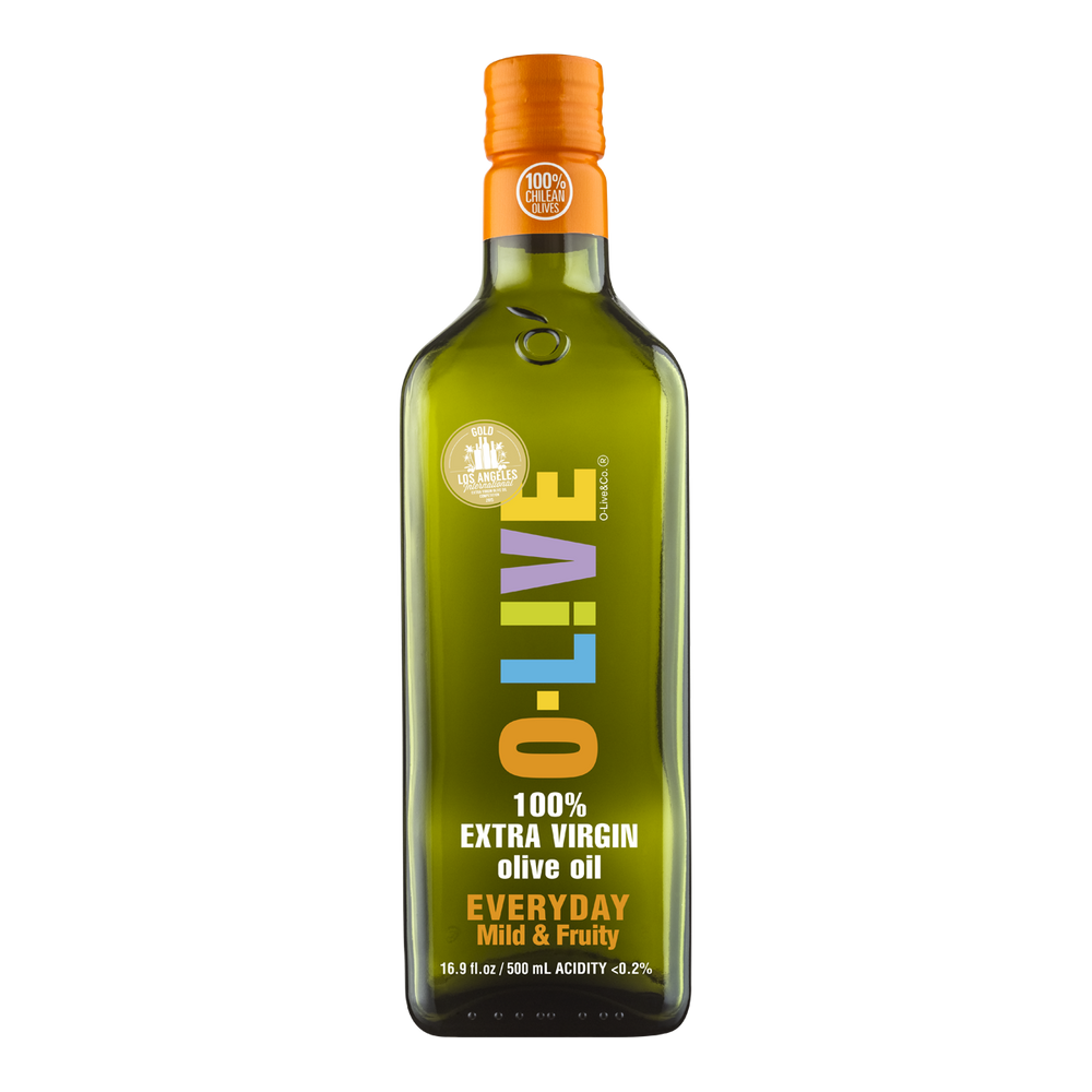 Everyday Extra Virgin Olive Oil: Mild & Fruity