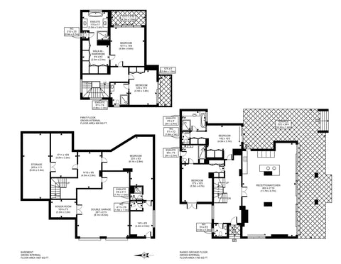 2D Floor Plan Up to 200 sq metres - Detailed Professional Marketing Floor Plan