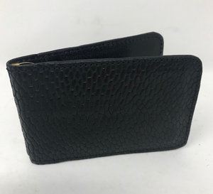Beaver Tail Money Clip Wallet