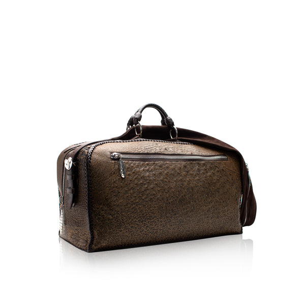 King George Ostrich Duffle Bag