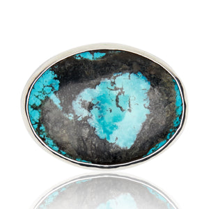 Mexican Turquoise Belt Buckle