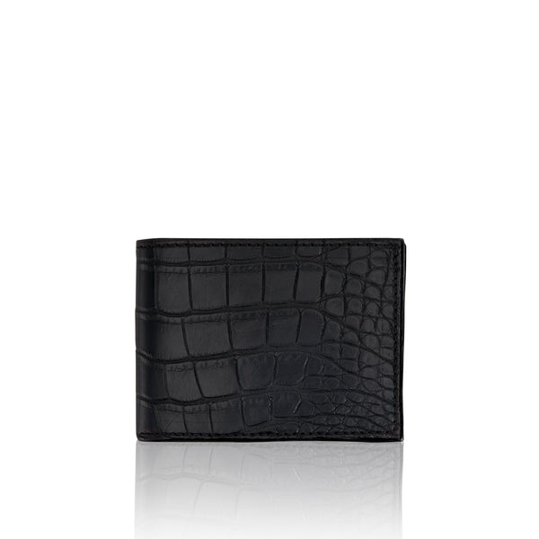 Bi-Fold Wallet - Alligator