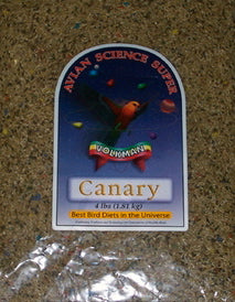 Avian Science Super Canary 4lb