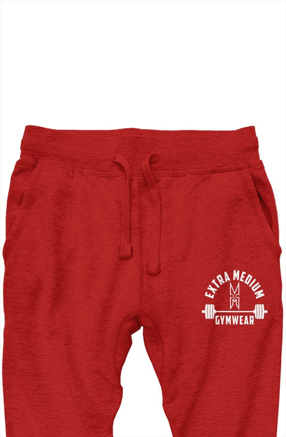 The XM Gymwear Red Premium Jogger Pants