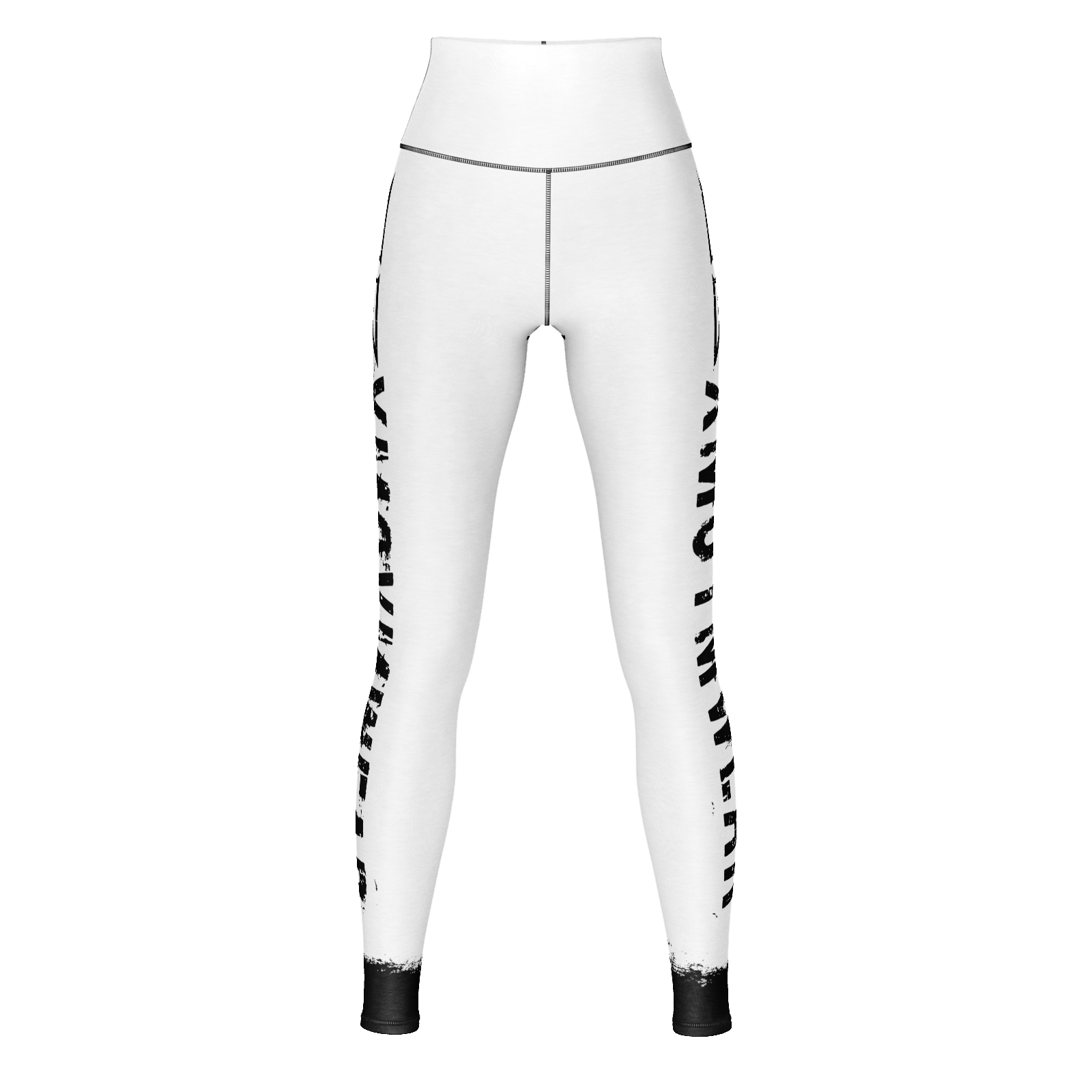 XM GYMWEAR WHITE LEGGINGS