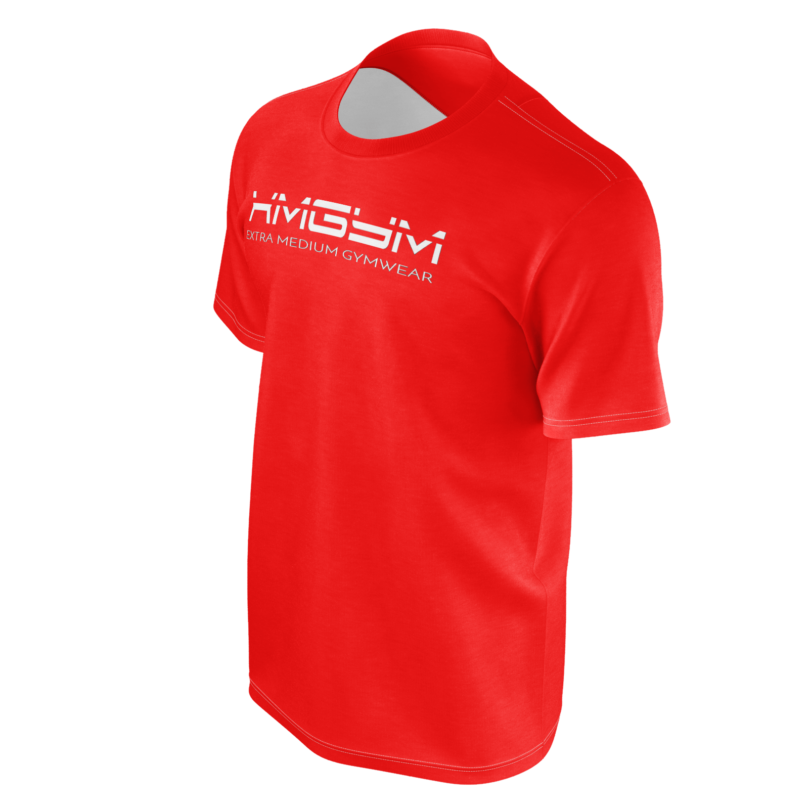 XMGYM ODYSSEY RED SHORT SLEEVE TEE