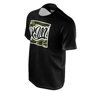 XM Gymwear Mission Black Camo T-Shirt