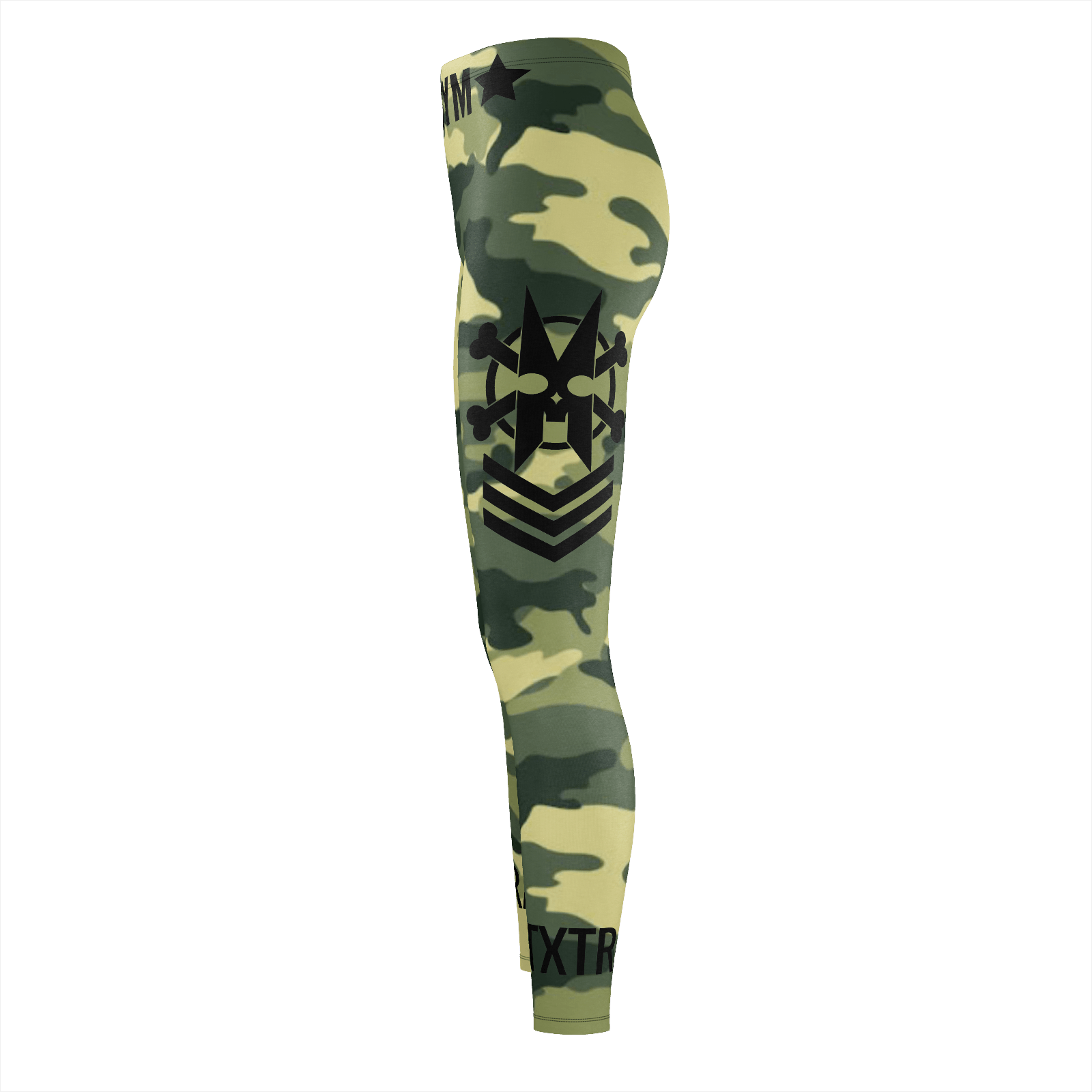 XMGYM BONES CAMO WARFIGHTER LEGGINGS