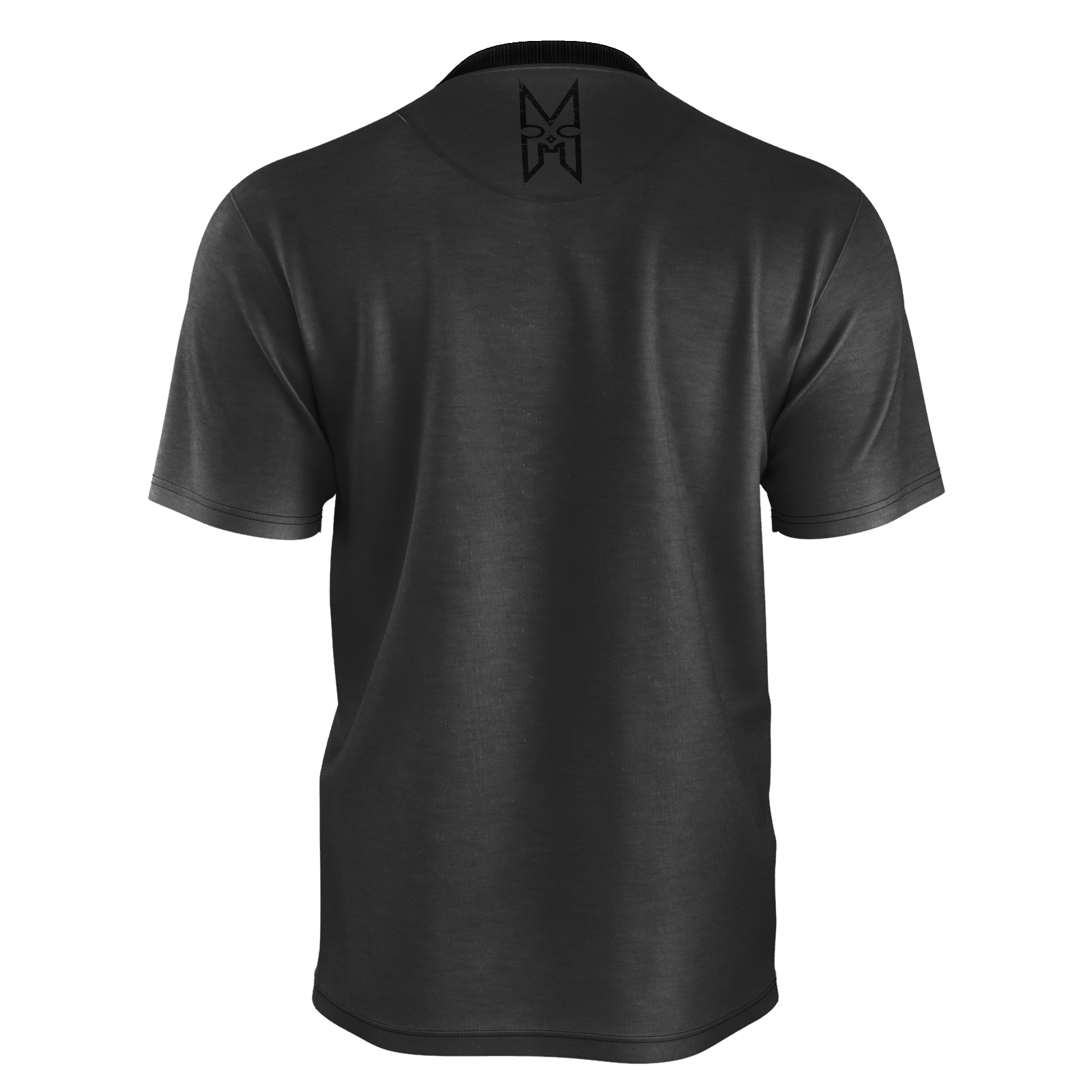 XM GYMWEAR BLACK DEAD LIFT T SHIRT