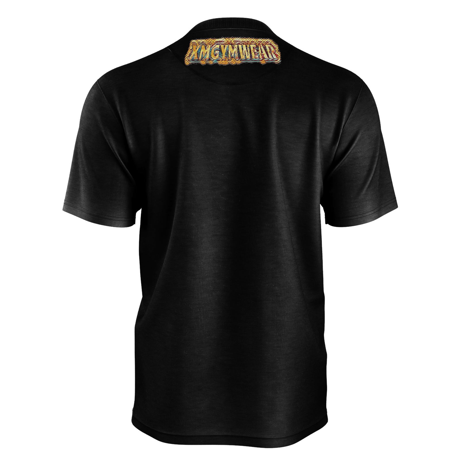 XMGYM GROWBOT BLACK TEE