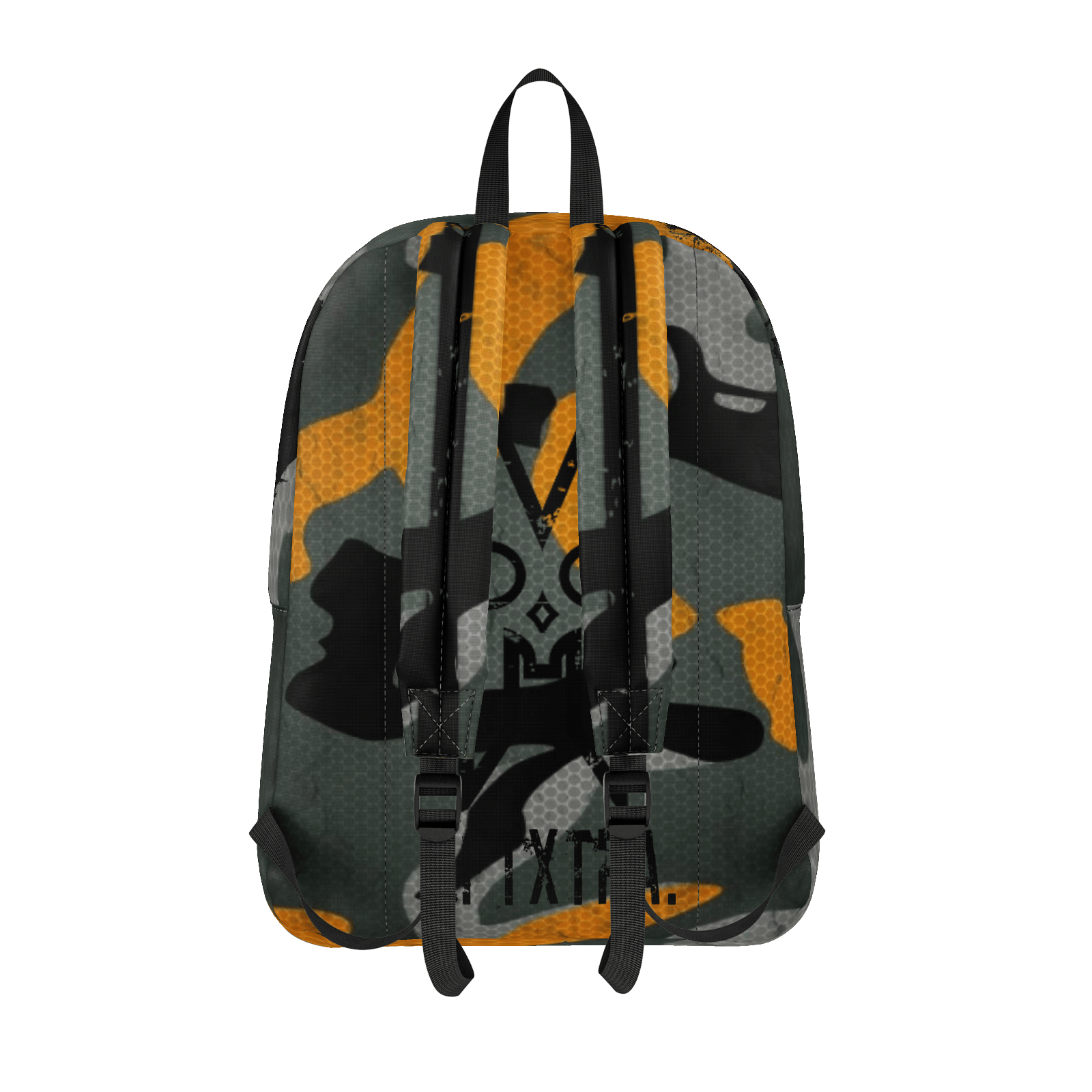 XM GYMWEAR ANNIHILATION ORANGE CAMO BATTLE BAG