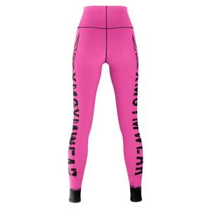XM GYMWEAR ROSE LEGGINGS