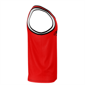 FSA BLACK AND RED TANK