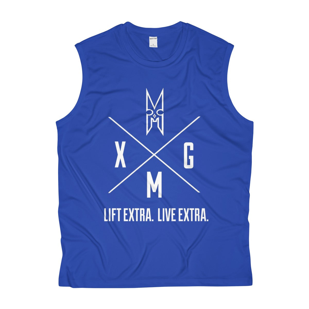 XMG Men's Sleeveless Performance Tee