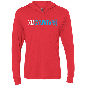 XMGYMWEAR Unisex Triblend LS Hooded T-Shirt