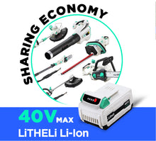 Load image into Gallery viewer, LITHELI 40v Lithium-ion Battery 2.5Ah power garden tools