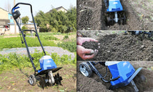 Load image into Gallery viewer, Electric Cultivator & Tiller Rotary Hoe Garden Mini Tiller - Matrix Australia