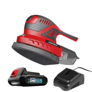 20v X-ONE Cordless Delta Sander Kit - MATRIX Australia